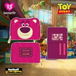 Loungefly Disney Pixar Lotso Cosplay Sherpa Zip Around Wallet - April 2021 pre-orders coming on May 2021