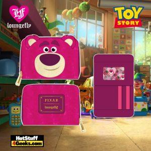 Loungefly Disney Pixar Lotso Cosplay Sherpa Zip Around Wallet - April 2021 pre-orders coming on May 2021