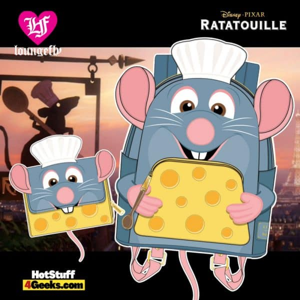 Loungefly Disney Pixar Ratatouille Chef Cosplay Collection - April 2021 pre-orders coming on May 2021