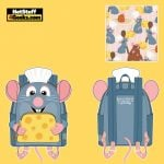 Loungefly Disney Pixar Ratatouille Chef Cosplay Mini Backpack - April 2021 pre-orders coming on May 2021