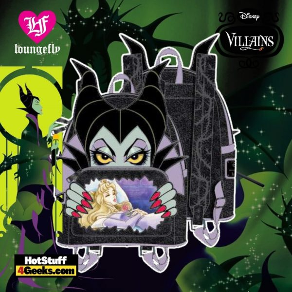 Loungefly Disney Villains Scene Maleficent Sleeping Beauty Mini Backpack