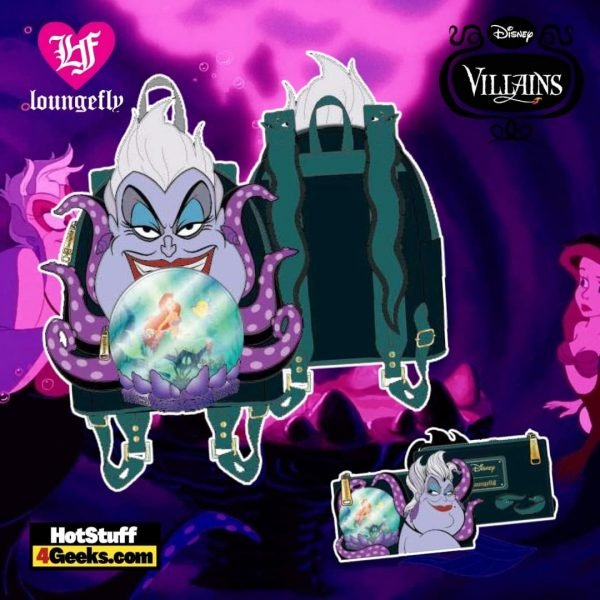 Loungefly Disney Villains Scene Ursula Crystal Ball Collection