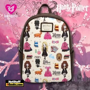 Loungefly Harry Potter Luna & Hermione Mini Backpack - BoxLunch Exclusive