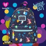 Loungefly Inside Out MiniBackpack - Disney Shop Exclusive