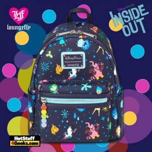 Loungefly Inside Out Mini Backpack - Disney Shop Exclusive