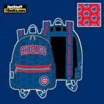 Loungefly MLB Chicago Cubs Logo Mini Backpack