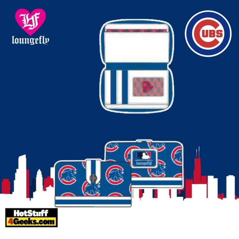 Loungefly MLB Chicago Cubs Logo Wallet