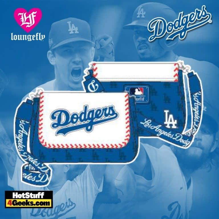 Loungefly MLB LA Dodgers Baseball Seam Stitch Crossbody
