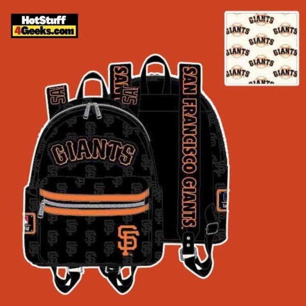 Loungefly MLB SF Giants Logo Mini Backpack