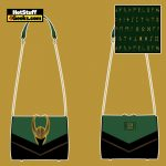 Loungefly Marvel Loki Hardware Crossbody - April 2021 pre-orders coming on May 2021
