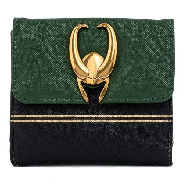 Loungefly Marvel Loki Hardware With Zip Coin Pouch