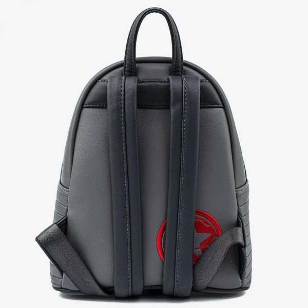 Loungefly Marvel Winter Soldier Cosplay Mini-Backpack by Loungefly
