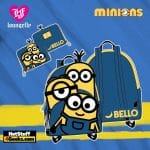 Loungefly Minions Triple Minion Bello Collection
