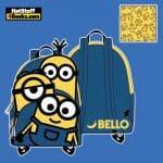 Loungefly Minions Triple Minion Bello Mini Backpack