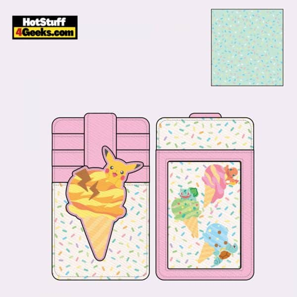 Loungefly Pokemon Ice Cream Cardholder - April 2021 pre-orders coming on May 2021