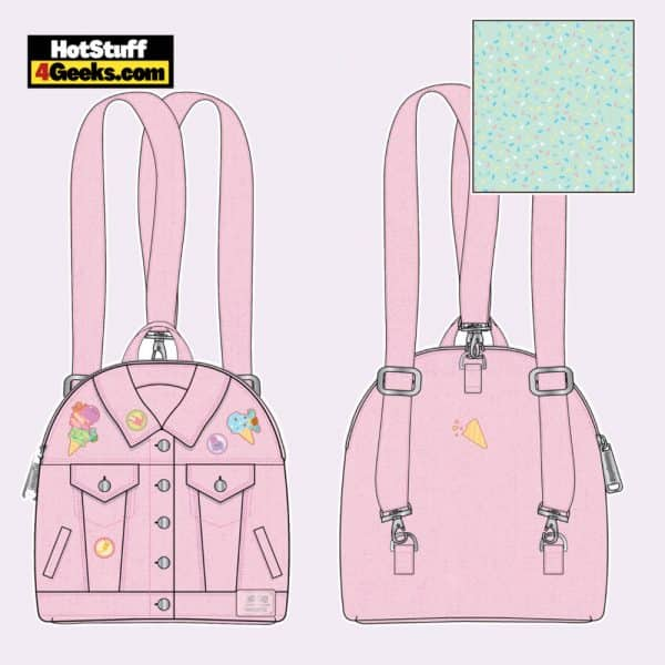Loungefly Pokemon Ice Cream Jacket Convertible Mini Backpack - April 2021 pre-orders coming on May 2021