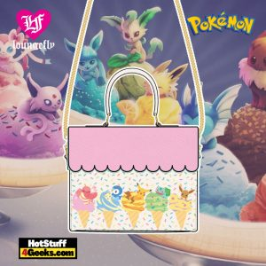 Loungefly Pokemon Ice Cream Scallop Crossbody - April 2021 pre-orders coming on May 2021