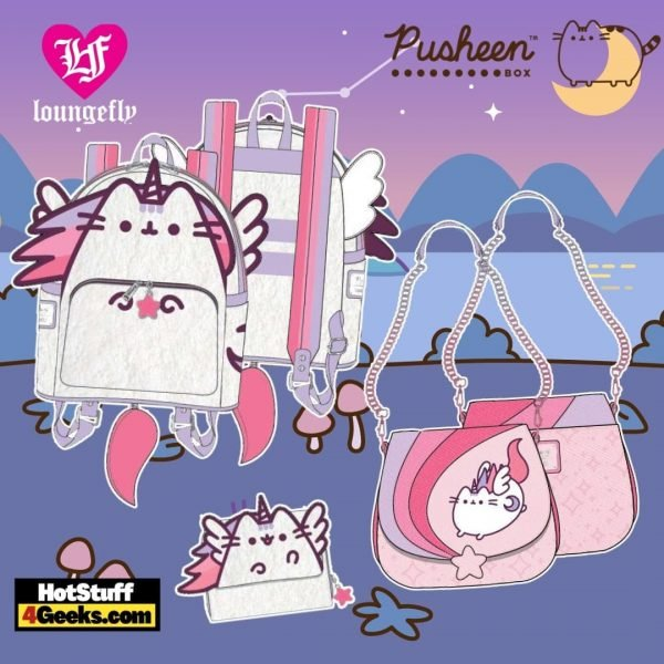 Loungefly Pusheen Unicorn Plush Collection