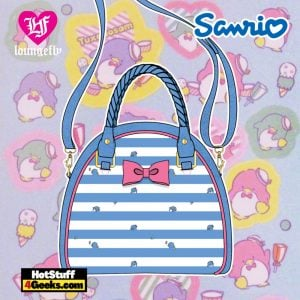 Loungefly Sanrio Tuxedo Sam Striped Crossbody - April 2021 pre-orders coming on May 2021