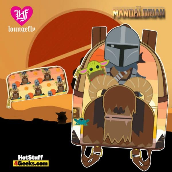 Loungefly Star Wars Mandalorian Bantha Ride Collection - April 2021 pre-orders coming on May 2021