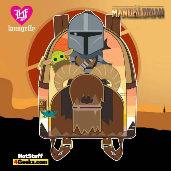 Loungefly Star Wars Mandalorian Bantha Ride Mini Backpack - April 2021 pre-orders coming on May 2021