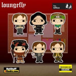 Loungefly The Office Dwight Schrute Disguises Blind-Box Pop! Pin - Entertainment Exclusive