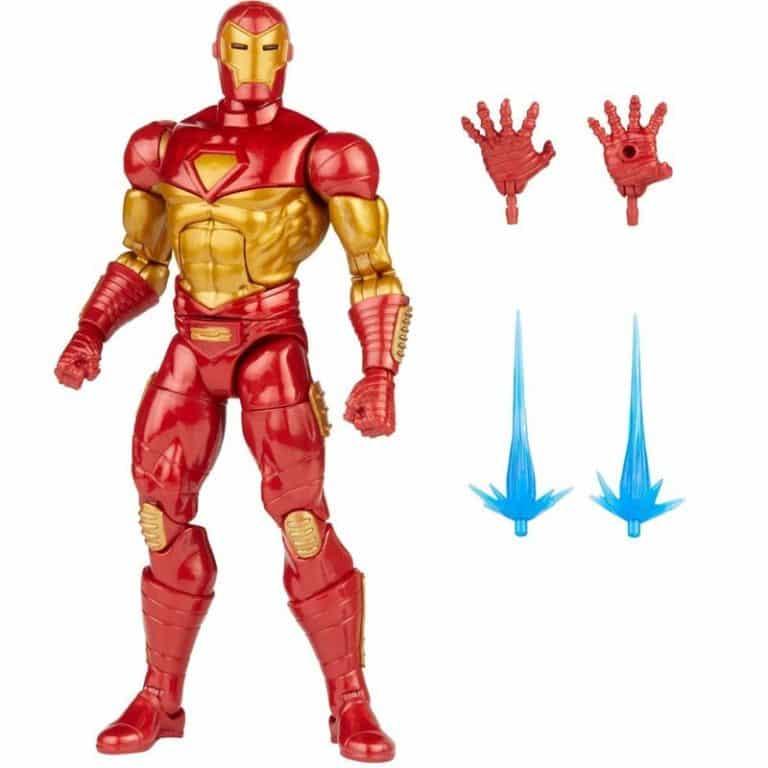 Marvel Legends Comic Modular Iron Man 6-Inch Action Figure