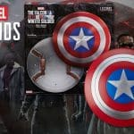 Marvel Legends The Falcon and The Winter Soldier Captain America Role Play Shield