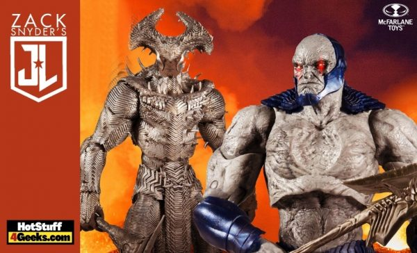 McFarlane DC Zack Snyder Justice League - Darkseid and Steppenwolf 10-Inch Mega Figures