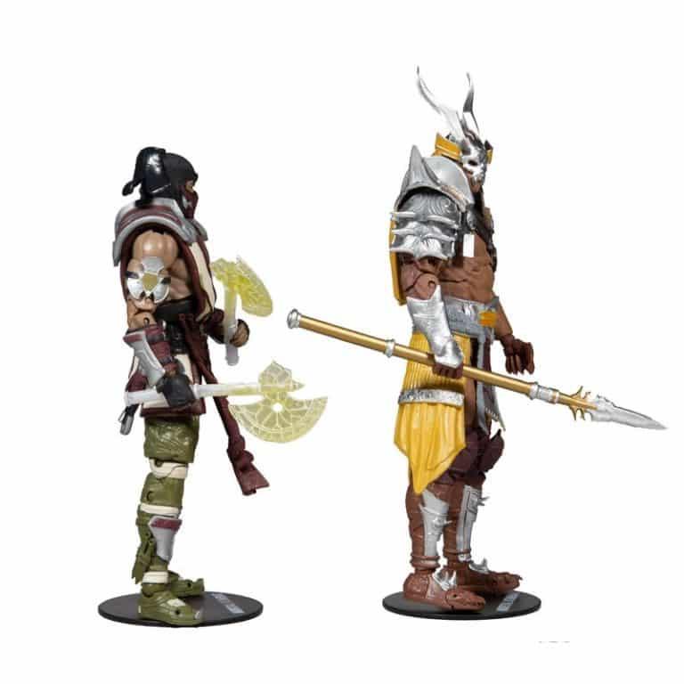 McFarlane Toys: Mortal Kombat 11 - Sub-Zero vs. Shao Kahn 2 Pack 7 inch Action Figures - Walmart Exclusive