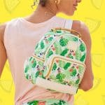 Mickey and Minnie Mouse Tropical Mini Backpack