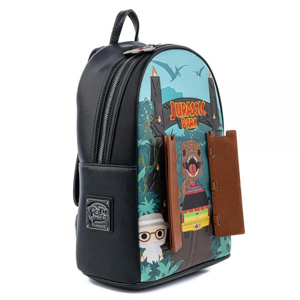 Pop by Loungefly Jurassic Park Gates Mini Backpack