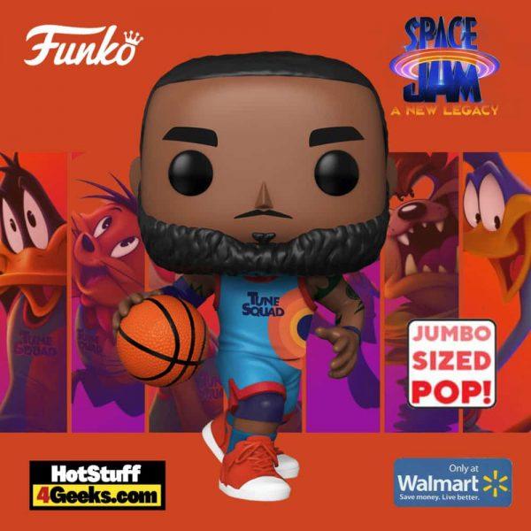 Funko Pop! Movies: Space Jam: A New Legacy - LeBron James 10-inch Jumbo Sized Funko Pop! Vinyl Figure - Walmart Exclusive