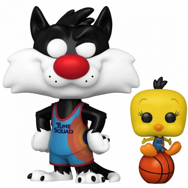 Space Jam A New Legacy Sylvester and Tweety Funko Pop! Vinyl Figure and Buddy