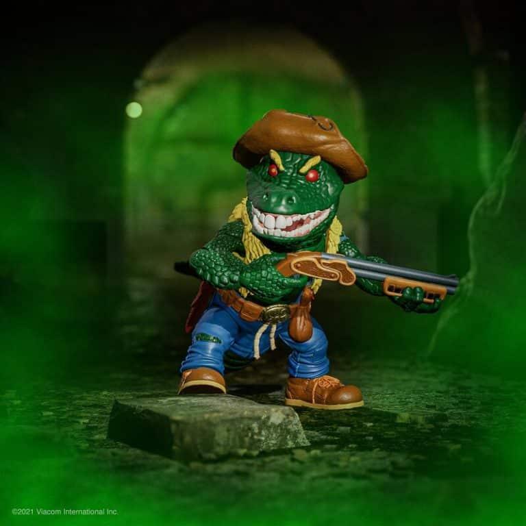 Teenage Mutant Ninja Turtles Ultimates Leatherhead 7-Inch Action Figure