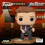 The Funko Pop! Deluxe: Marvel Avengers – Victory Shawarma Series – Hawkeye Funko Pop! Vinyl Figure – Amazon Exclusive, Figure 3 of 6
