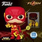 Funko Pop! Television: The Flash Fastest Man Alive: The Flash Glow-In-The-Dark (GITD) Funko Pop! Vinyl Figure – Funko Shop Exclusive