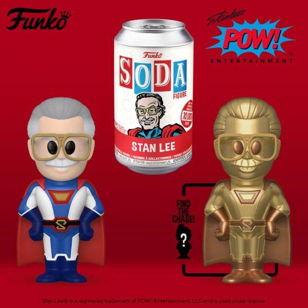 The Funko Vinyl Soda Marvel – Stan Lee Superhero Vinyl Soda Figure With Gold Chase
