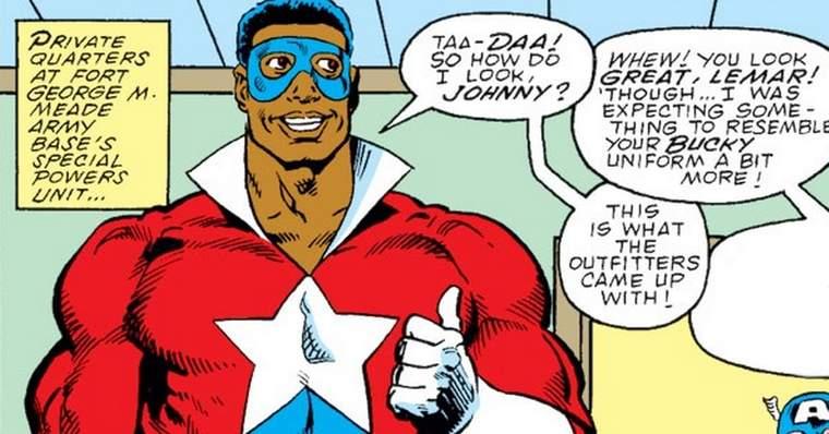 Who is Battlestar (Lemar Hoskins) in Marvel Comics? - Racist Creation
