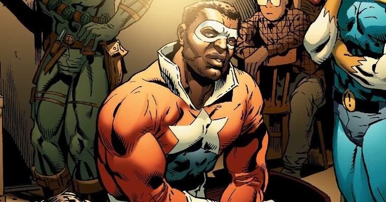 Who is Battlestar (Lemar Hoskins) in Marvel Comics? - Civil War