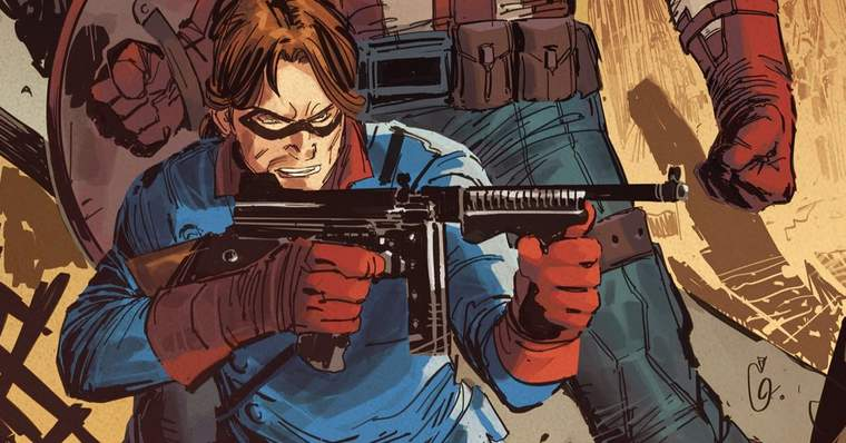Winter Soldier: All The Bucky Barnes Powers and Abilities - Combat training