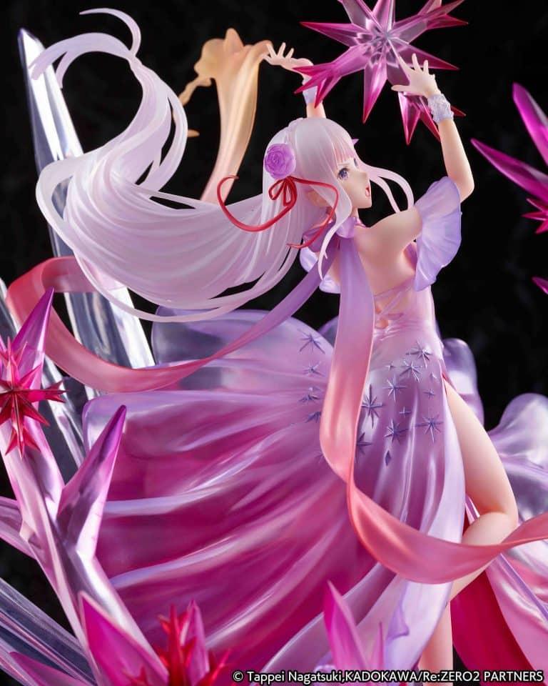 eStream: Re: ZERO Starting Life in Another World - Hyouketsu no Emilia - Crystal Dress Ver.- 1/7 figure