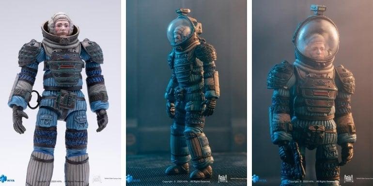 Alien Lambert in Spacesuit 1:18 Scale PX Previews Exclusive Figure