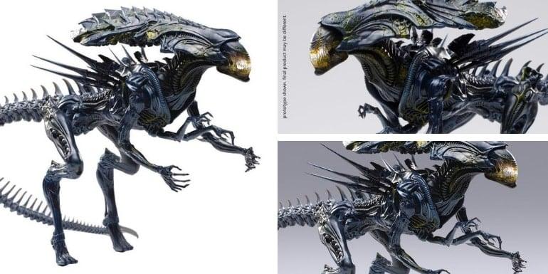 Alien vs. Predator Alien Queen (Battle Damaged) 1:18 Scale PX Previews Exclusive Figure