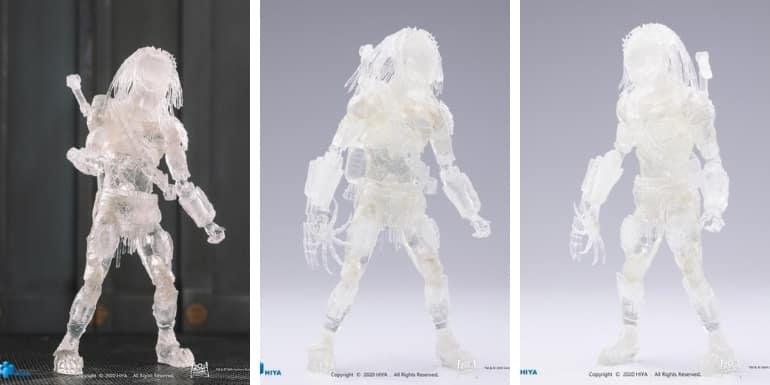 Alien vs. Predator: Requiem Wolf Predator (Invisible) 1:18 Scale PX Previews Exclusive Figure