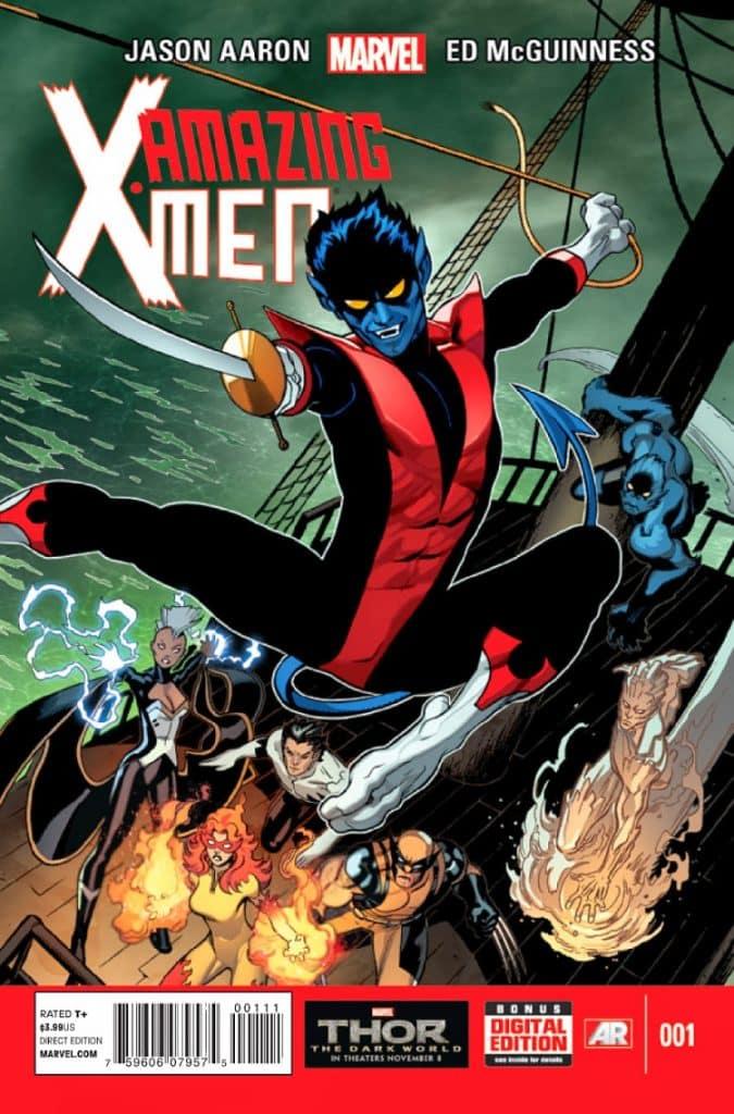 Amazing X-Men issue number 1