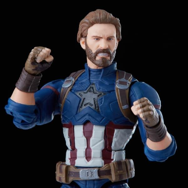 Hasbro: Marvel Legends Series - Avengers: Infinity War Captain America Action Figure, Premium Design - Walmart Exclusive