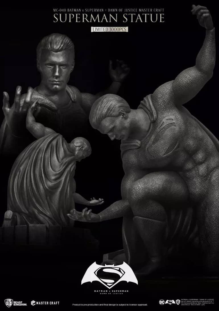 Beast Kingdom: Batman v Superman Dawn Of Justice: Master Craft Superman Statue (MC-040)