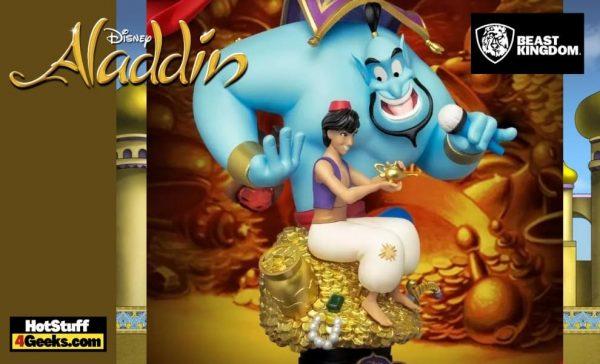 Beast Kingdom - Disney Pixar Classics Aladdin - Diorama Stage (DS-075) Statue