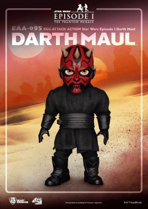 Beast Kingdom: Star Wars: Episode I - The Phantom Menace: Darth Maul (EAA-095) Action Figure